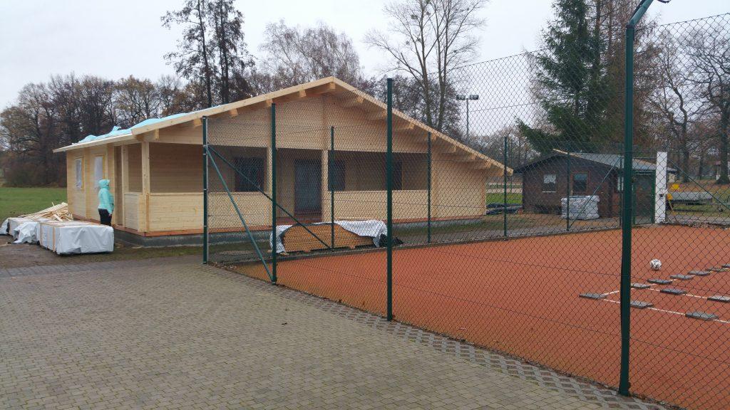 *Unser neues Vereinsheim*